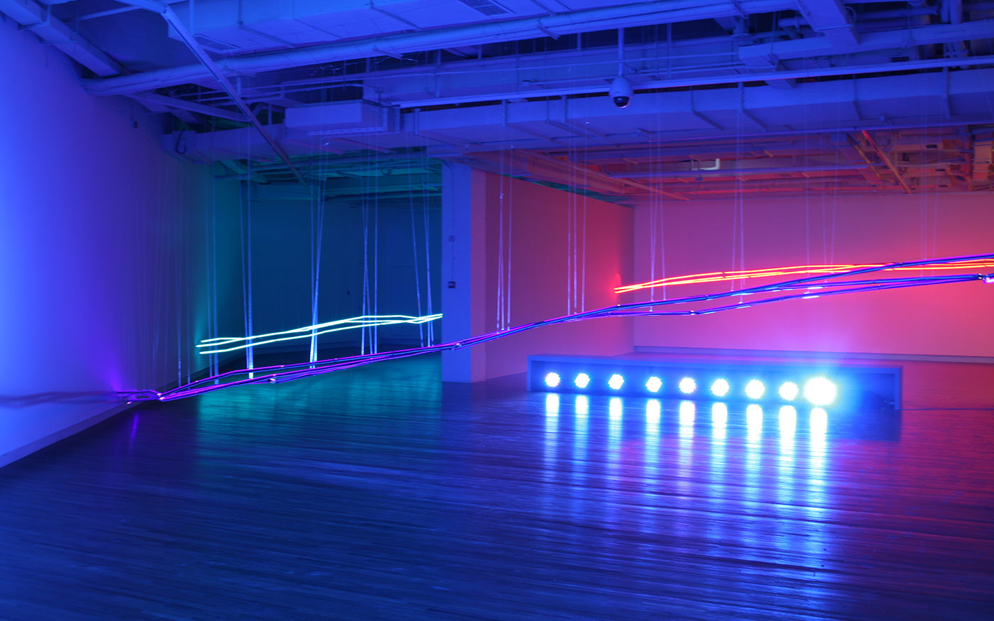 Light Artworks That Change the Density of Spaces
